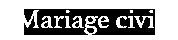 Mariage Civil Logo